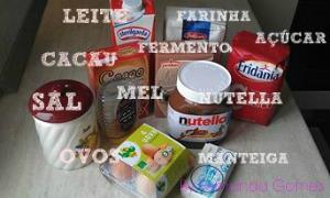 Muffin recheado de  Nutella 0